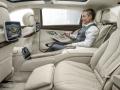 Mersedes-Maybach S600 2015 задние сиденья
