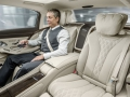 Mersedes-Maybach S600 2015 года, салон