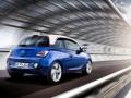 Opel Adam 2015 поведение на дороге