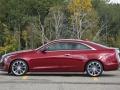 Cadillac ATS Coupe 2015 вид сбоку