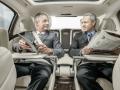 Mersedes-Maybach S600 2015 деловые переговоры