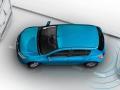 Renault Sandero 2015 вид сверху