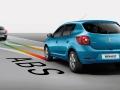 Renault Sandero 2015 поведение на дороге