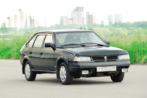 Новый автомобиль марки Москвич