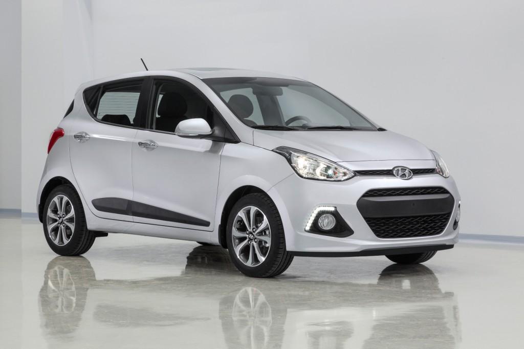 Внешний вид Hyundai I10