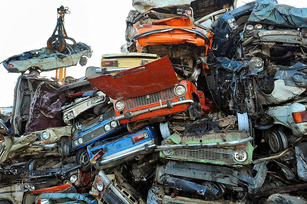 Утилизация старых машин