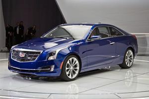 Cadillac ATS Coupe 2015 внешний вид автомобиля