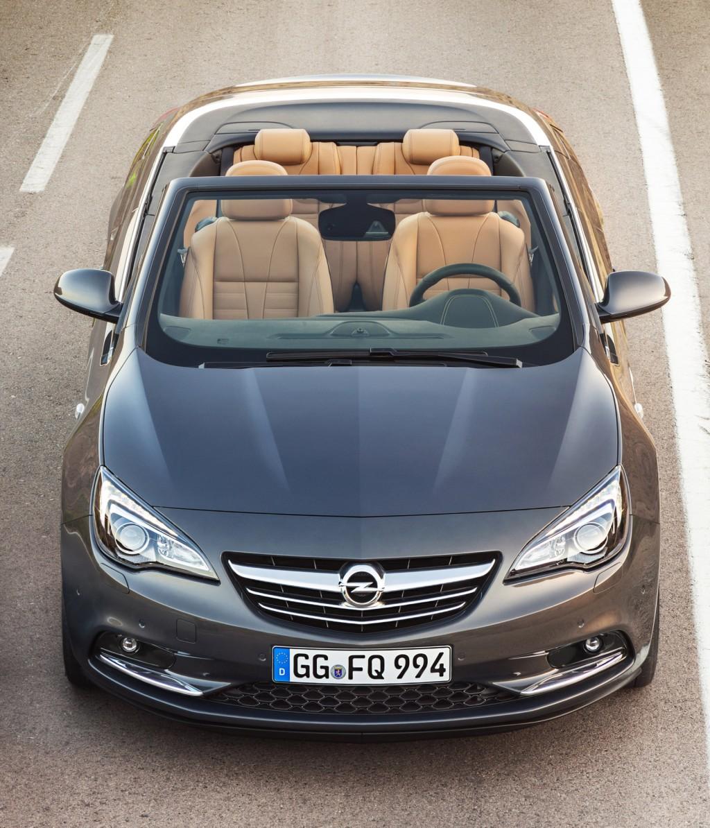 Opel Cascada 2015 года - обновленная модель