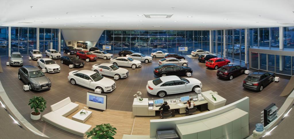 фотография автосалона Audi