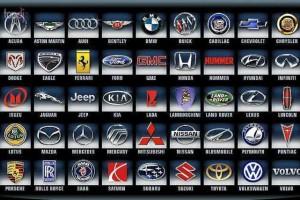 Фотография марок автомобилей