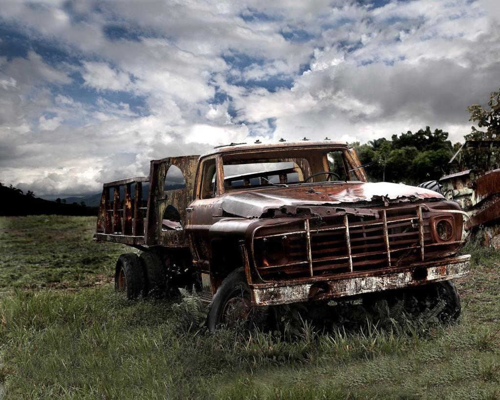 фотография старой машины