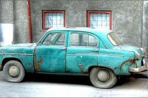 Фотография старого автомобиля