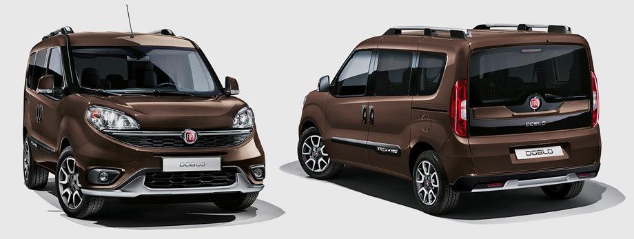Fiat Doblo Trekking 2015 года - экстерьер