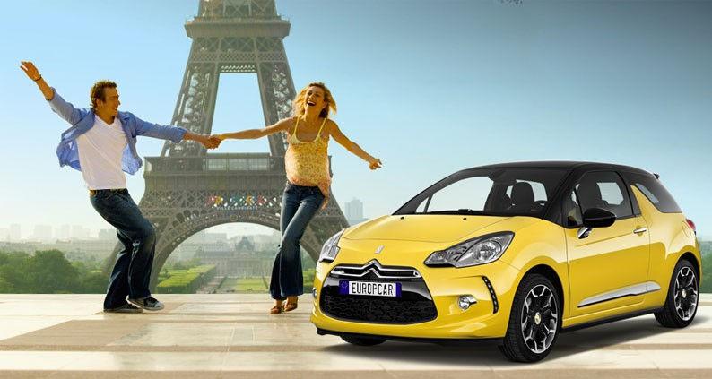 машина во Франции