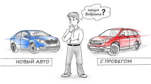 поддержанный или новый автомобиль