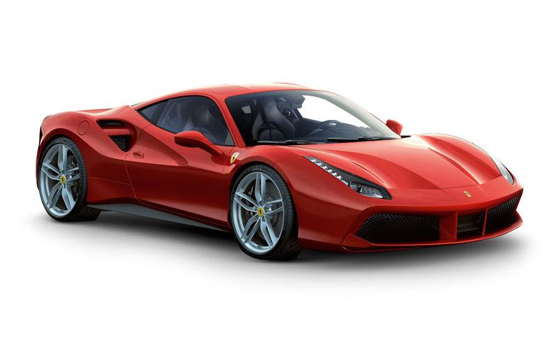 Автомобиль Ferrari 488 GTB фото