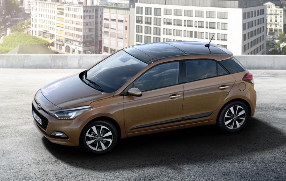 Внешний вид Hyundai i20