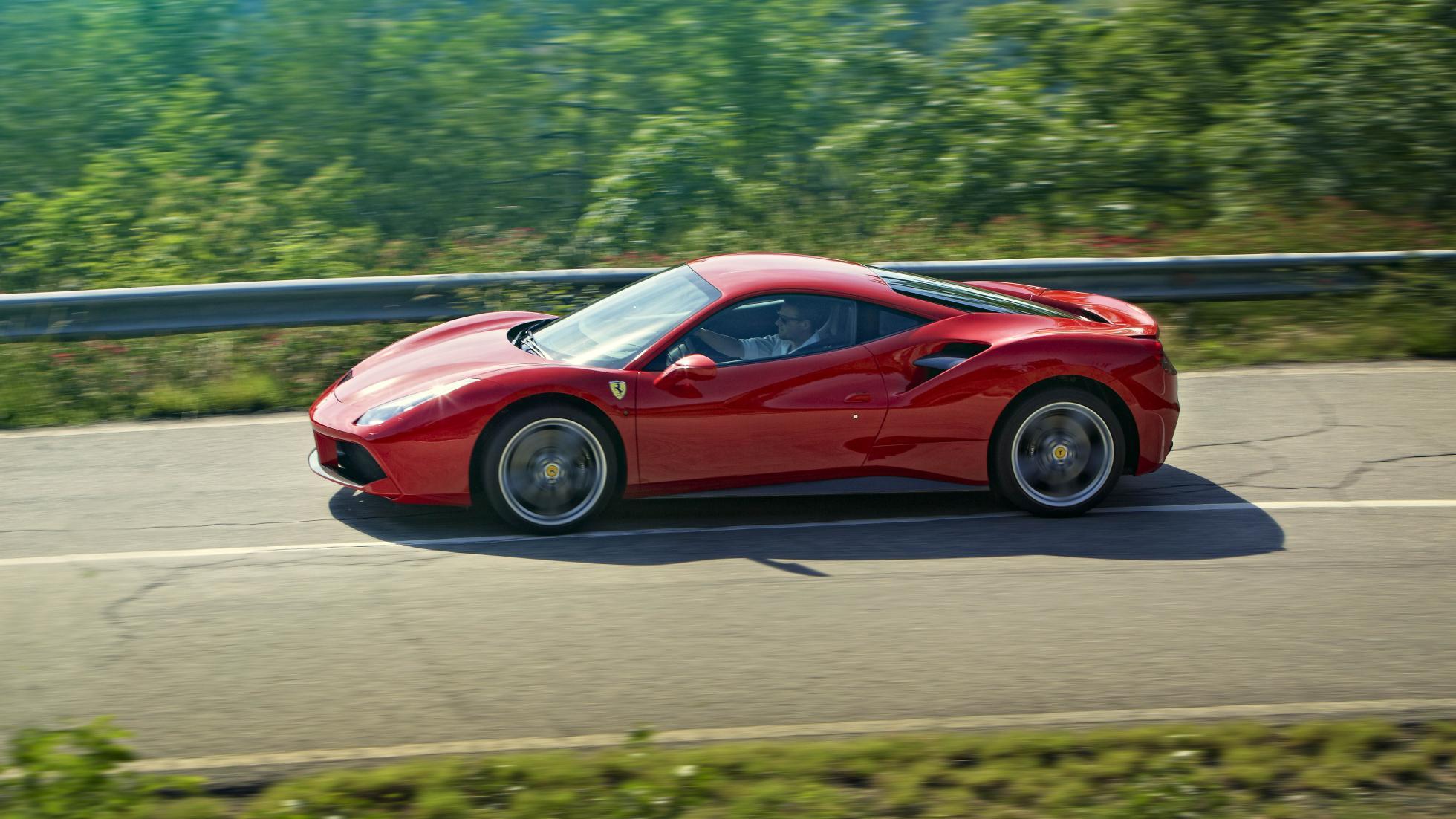 Автомобиль Ferrari 488 GTB