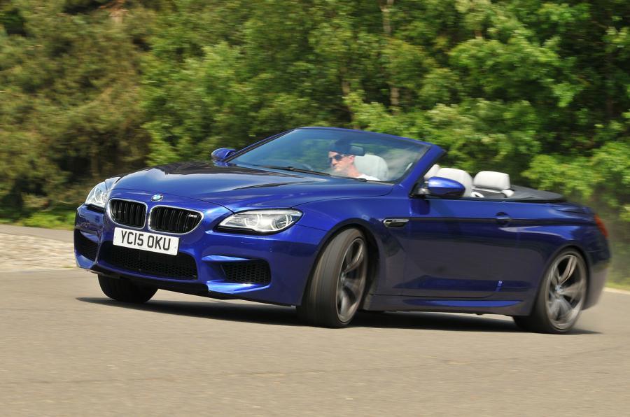 BMW M6 Convertible 2015 фото