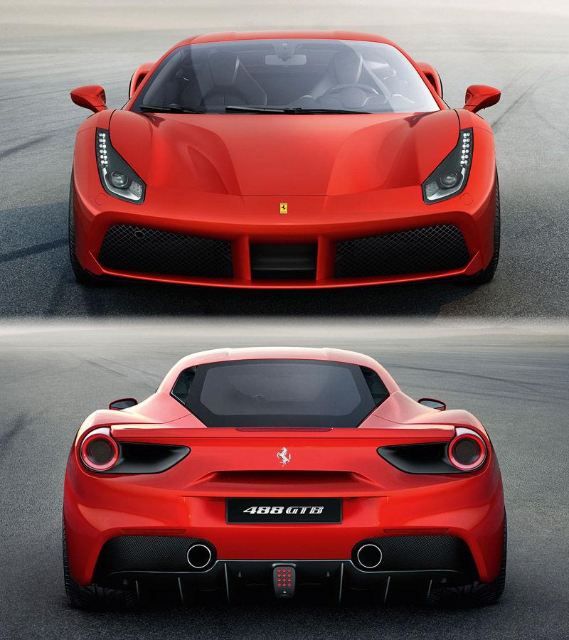Экстерьер Ferrari 488 GTB