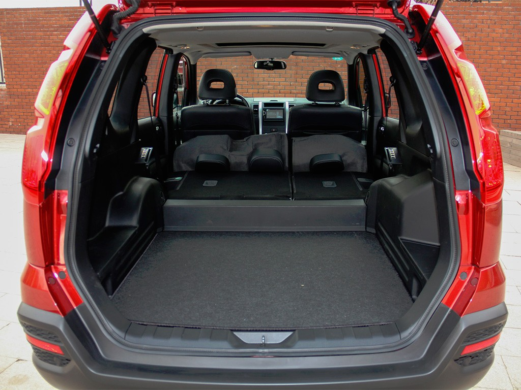 DongFeng MX6 багажник