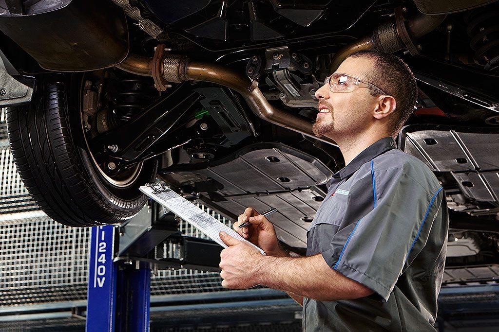 Техническая проверка автомобиля