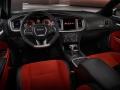 Dodge ChargerSRT Hellcat вид машины внутри